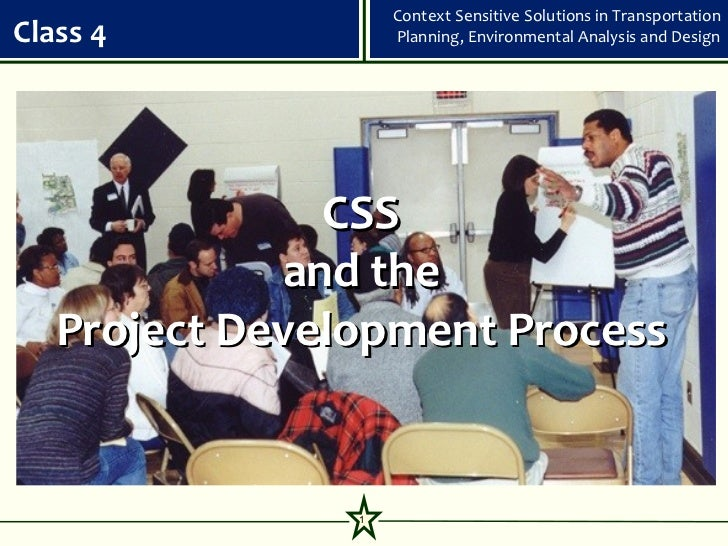 Class 4 CSS and the Project Development Process