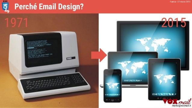 [CSSday 2015]   CSS & Email Design - Realtà e Prospettive Slide 3