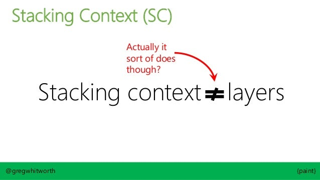 "@gregwhitworth {paint} <body> <div id=""one""> Item 1 </div> <div id=""two""> Item 2 </div> </body> HTML CSS div { width: 300p..."
