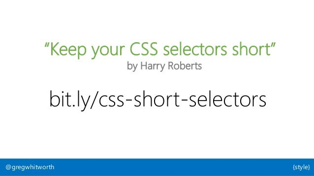 User Agent Author User 3 currently specified origins @gregwhitworth {style} : Renders CSS : Web Developer : Person using s...