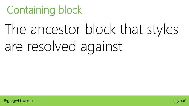 Containing Block @gregwhitworth {layout} position: fixed