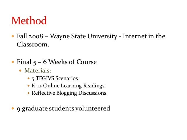 CSSE 2009 - Teachers' Preconceptions of Virtual Schooling: Challenging Myths & Misconceptions Slide 3