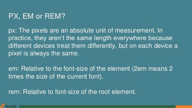css font size rem