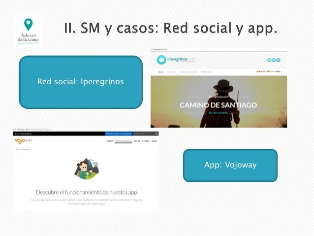 Red social: Iperegrinos App: Vojoway