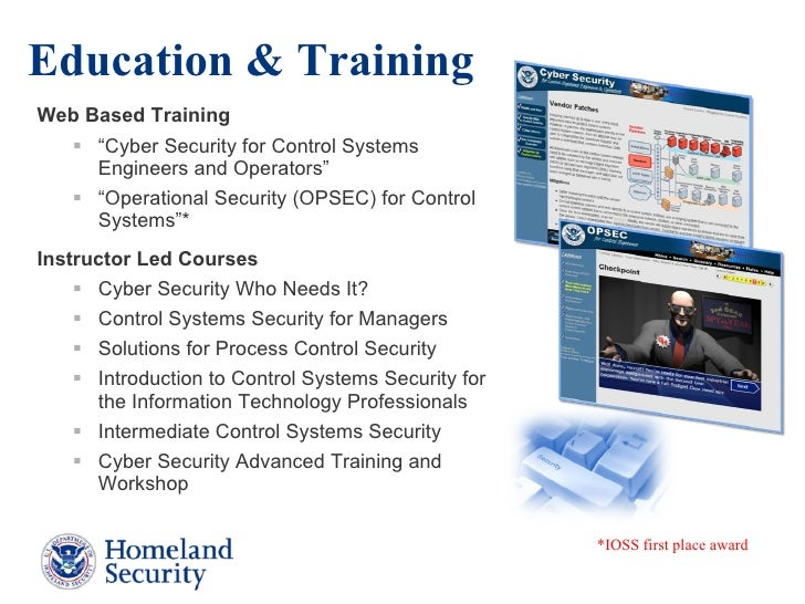 dhs ics security presentation