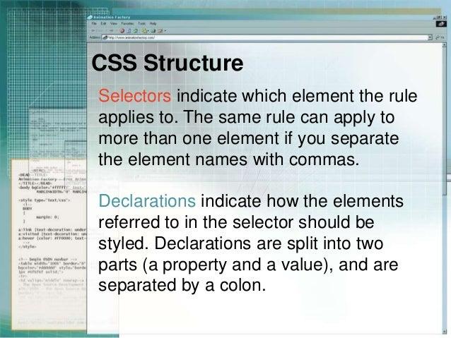 Css selectors div span and link - Div tag properties ...