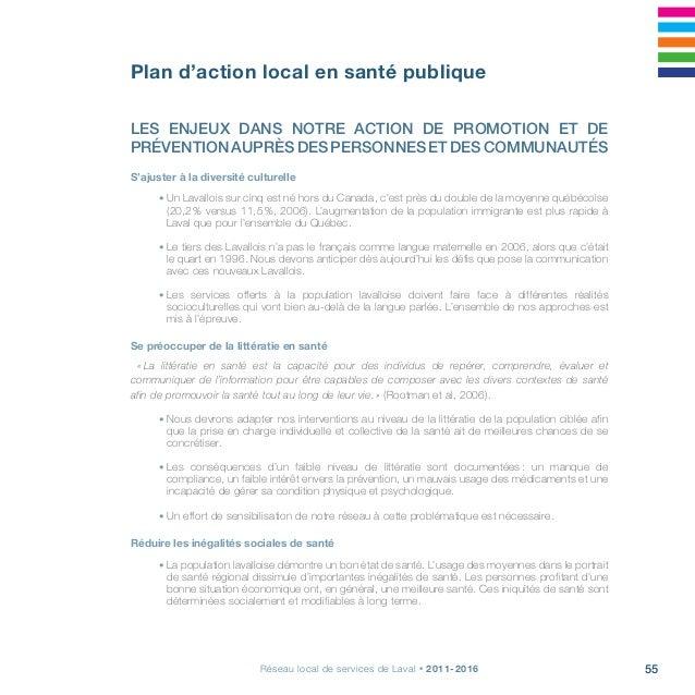 Projet clinique, s'arrimer pour la continuité, la qualité et l'accessibilité58 LES GRANDES ORIENTATIONS DU PLAN D'ACTION L...