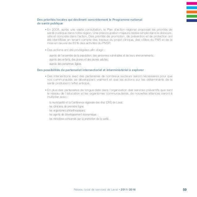 Projet clinique, s'arrimer pour la continuité, la qualité et l'accessibilité62 Priorités Actions à réaliser EN PROmotion-p...