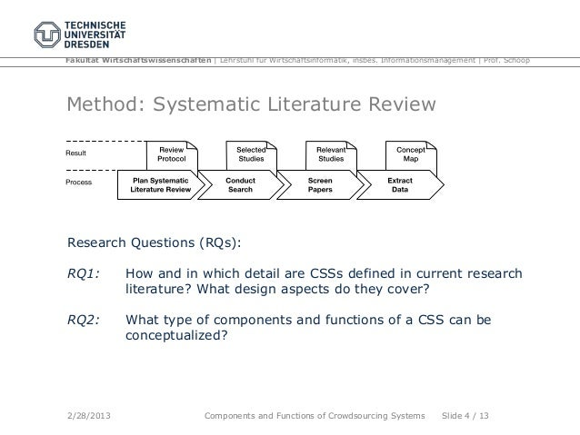 Writing Systematic Reviews for the Health and Social Sciences: Getting Started