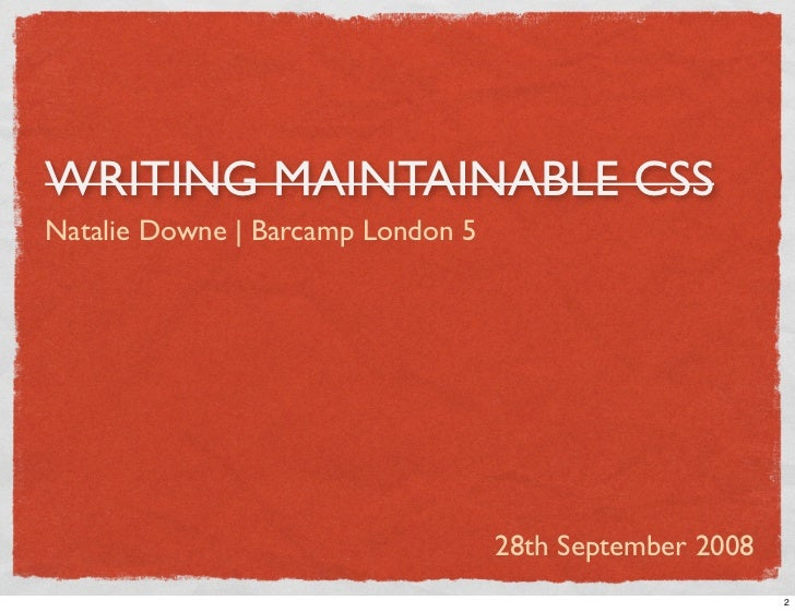 CSS Systems Slide 2