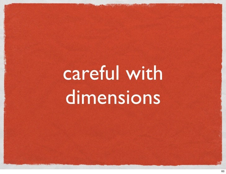 careful with dimensions                  60