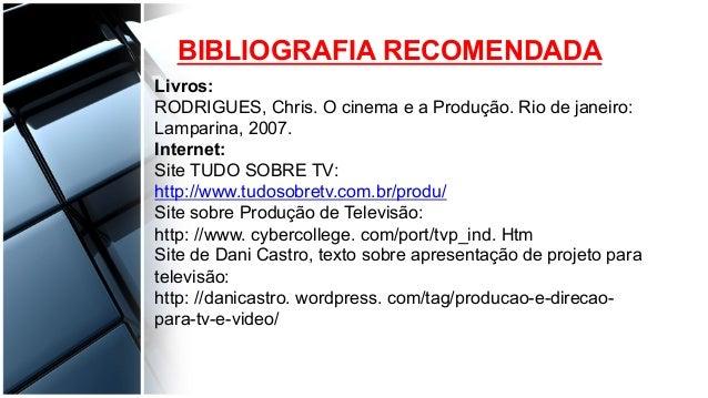 PRODUÇÃO AUDIOVISUAL - Etapas da Produção pdf