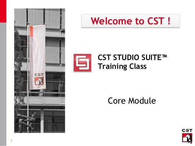 Cst Training Core Module Antenna 2