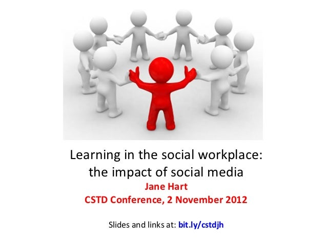 Learning	  in	  the	  social	  workplace:	     the	  impact	  of	  social	  media	  	                       Jane	  Hart	  ...