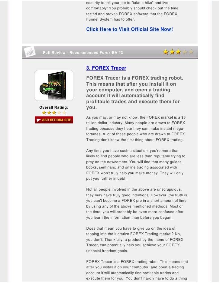 Forex autopilot system forum