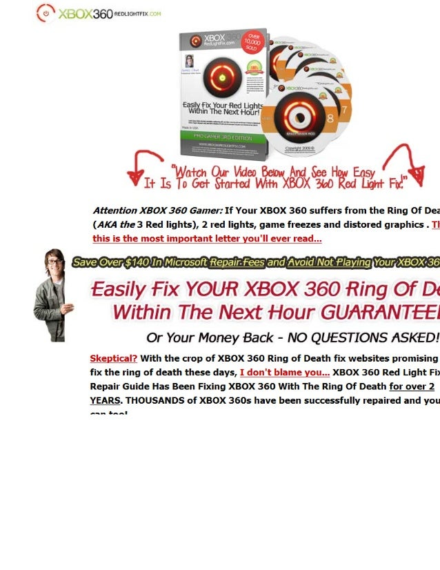 how to fix three red lights xbox 360