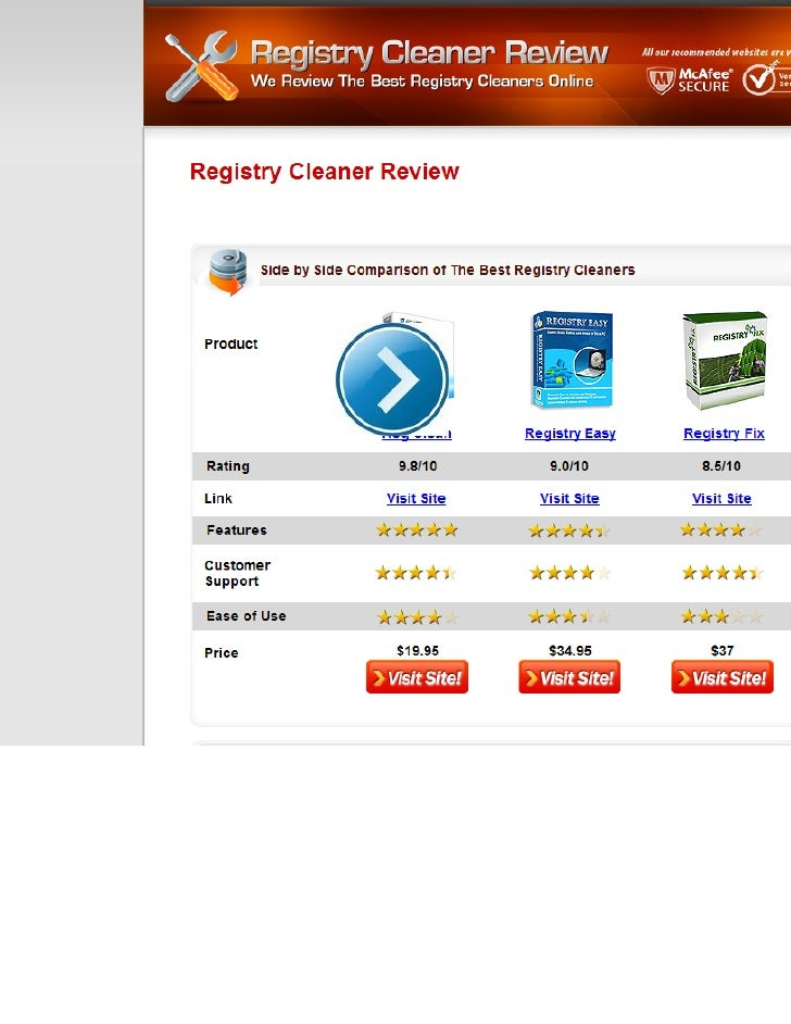 registry fix tool