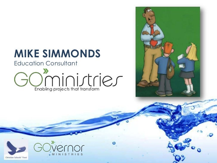 MIKE SIMMONDSEducation Consultant      Enabling projects that transform