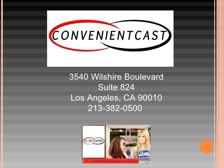 3540 Wilshire Boulevard Suite 824 Los Angeles, CA 90010 213-382-0500