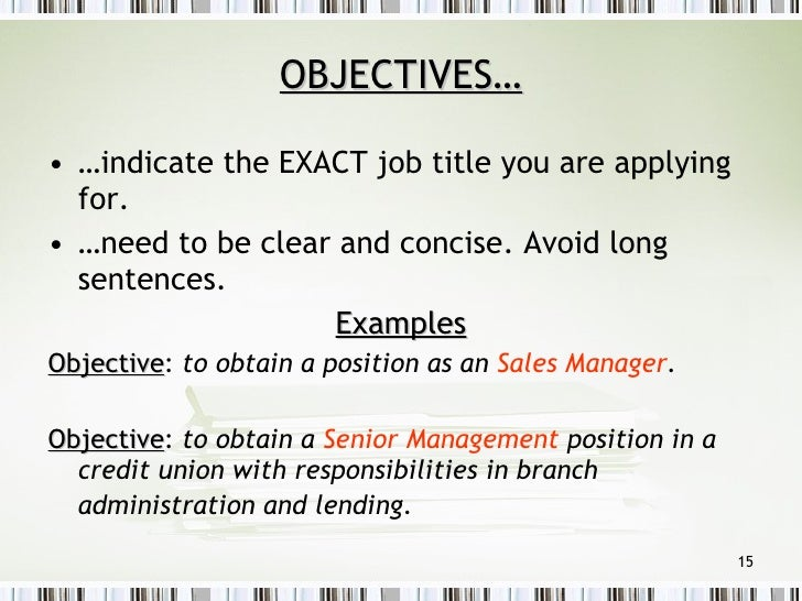SlideShare  Examples Of Resumes For Management Positions
