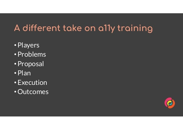 Personalised technical accessibility training: a case study Slide 2