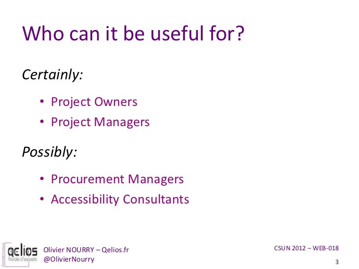 Get the most out of your accessibility expert Slide 3