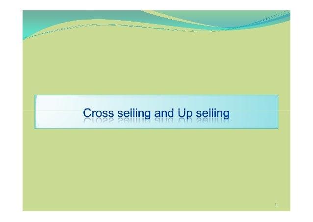 Cross Selling & Up Selling Slide 1