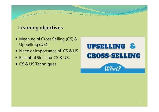 Cross Selling & Up Selling Slide 2