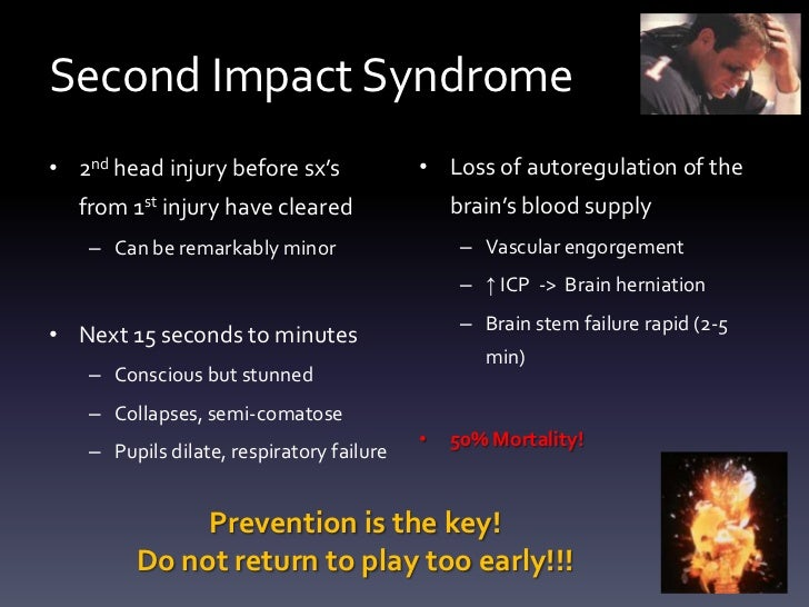 Image result for second impact syndrome