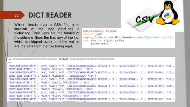 Csv python-project