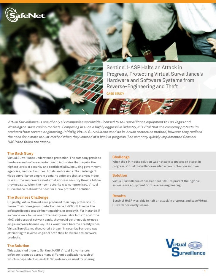 Virtual Surveillance Case Study
