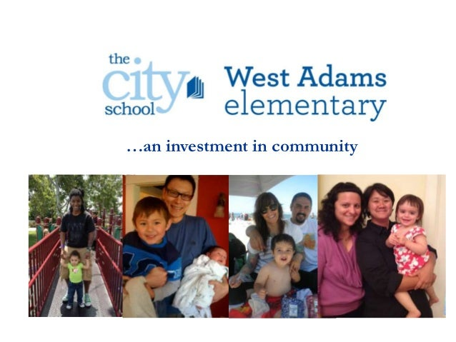 …an investment in community