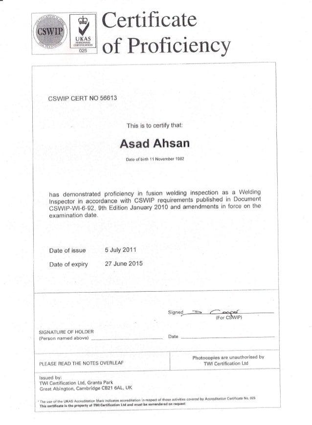 Cswip Card Certificatesverfication1