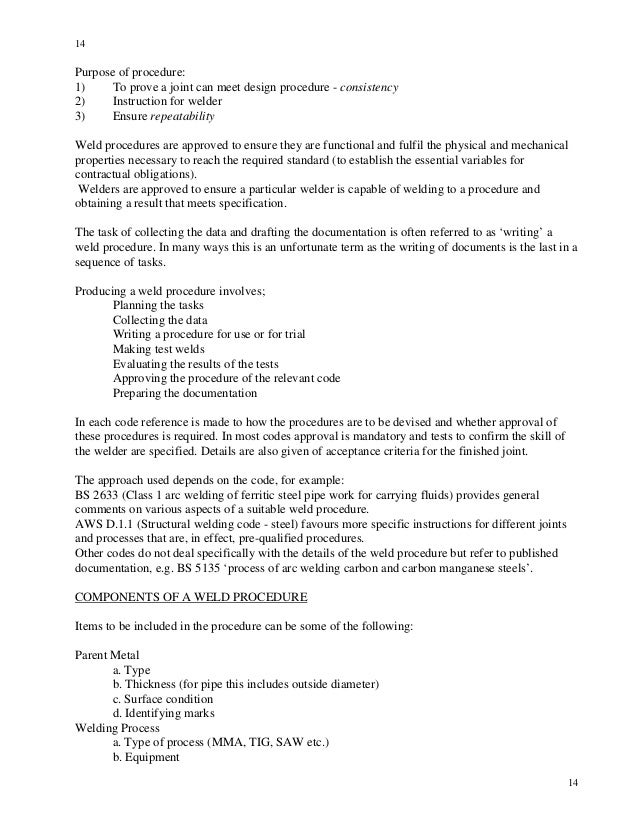 Cswip Welding Inspection Notes And Questions
