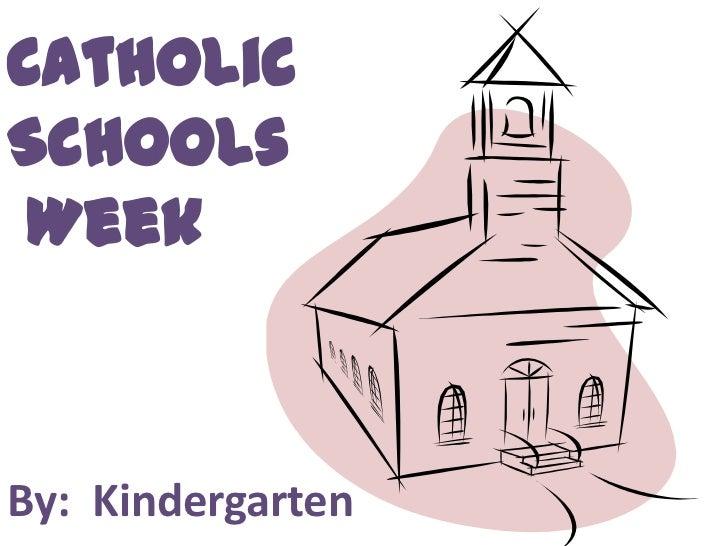 CatholicSchools WeekBy: Kindergarten