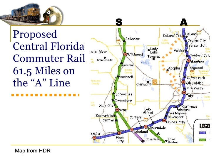 Fdot Csx And The Central Florida Commuter Rail Project