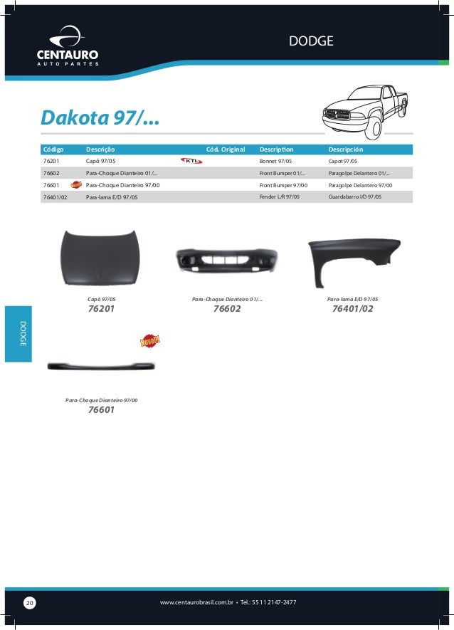 FIAT  147/Spazio Código  Descrição  60001/02  Assoalho Completo E/D  Cód. Original Description Floor Panel Complete L/R  P...