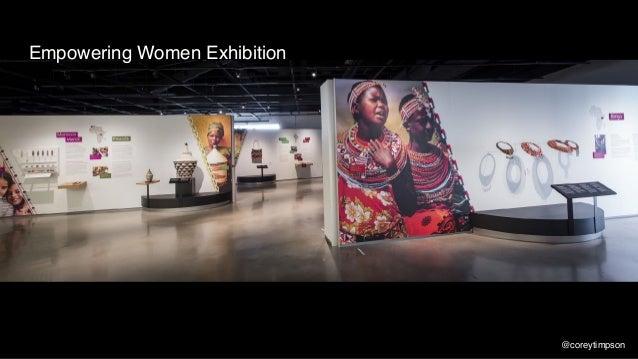 Empowering Women Exhibition @coreytimpson