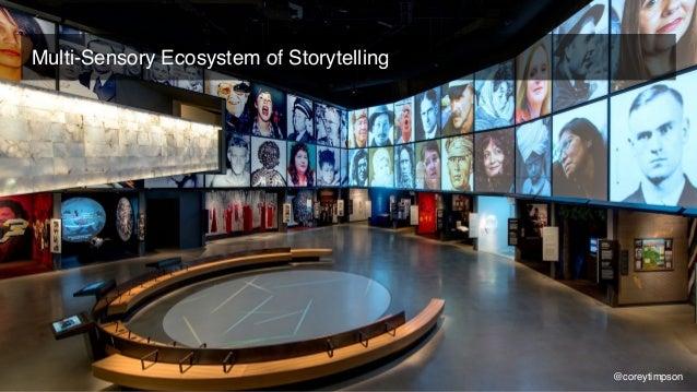 Multi-Sensory Design Transmedia Inclusive Storytelling Corey Timpson coreytimpson.com @coreytimpson Grazie 2018.05.16