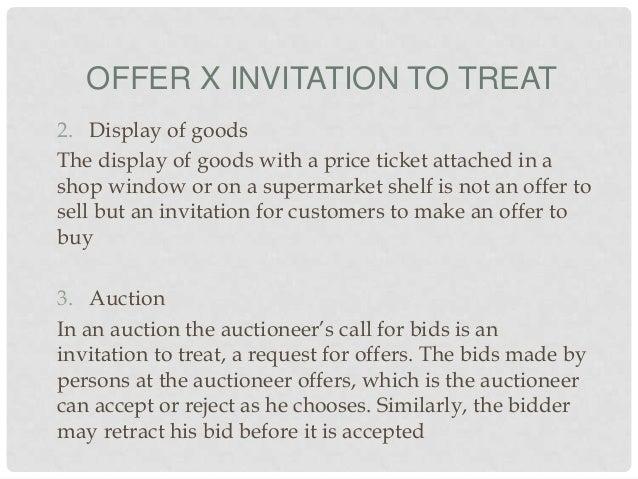 Ct 1 10 offer x invitation to treat stopboris Choice Image