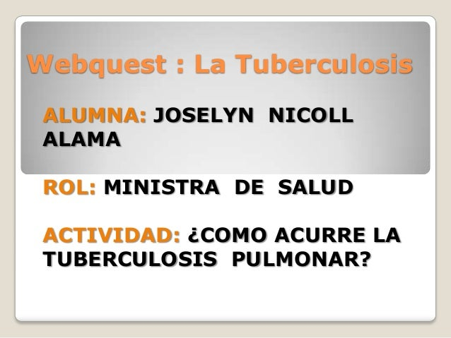LA TUBERCULOSIS: