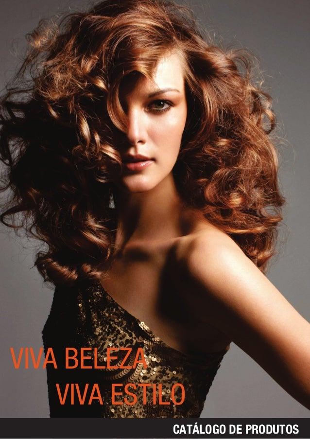 Catalogo de produtos profissionais de beleza