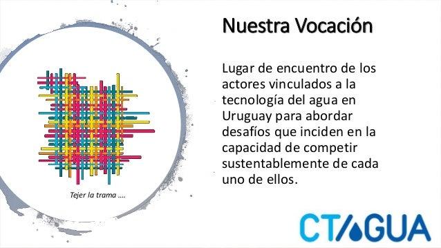 CTAgua- Presentación Institucional  Slide 2
