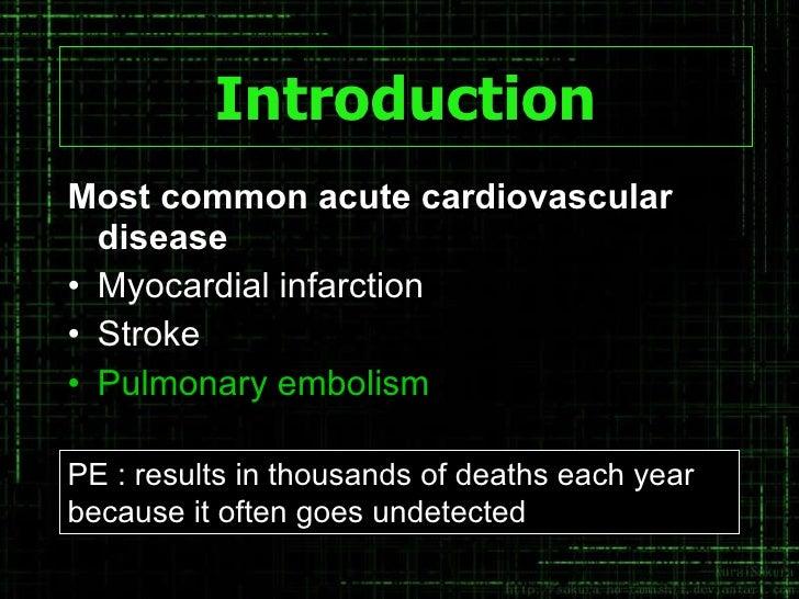 CTA OF PULMONARY EMBOLISM