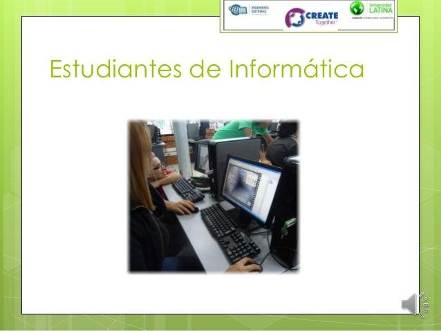 Estudiantes de Informática
