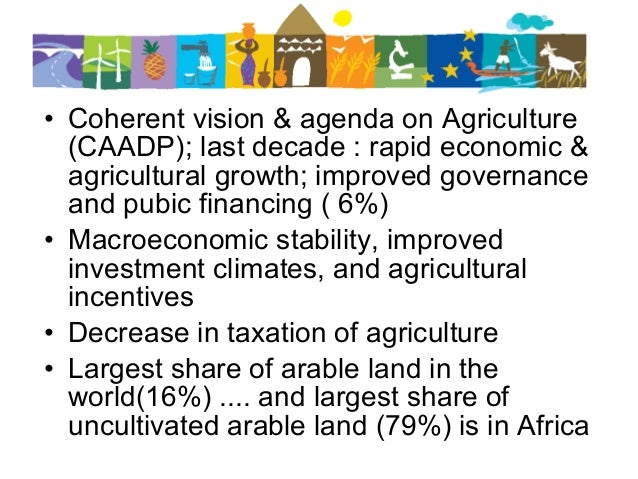 Key Drivers Of Agricultural Transformation In Africa What Role For F