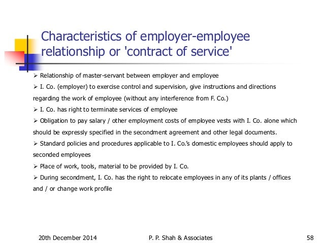employees obligation
