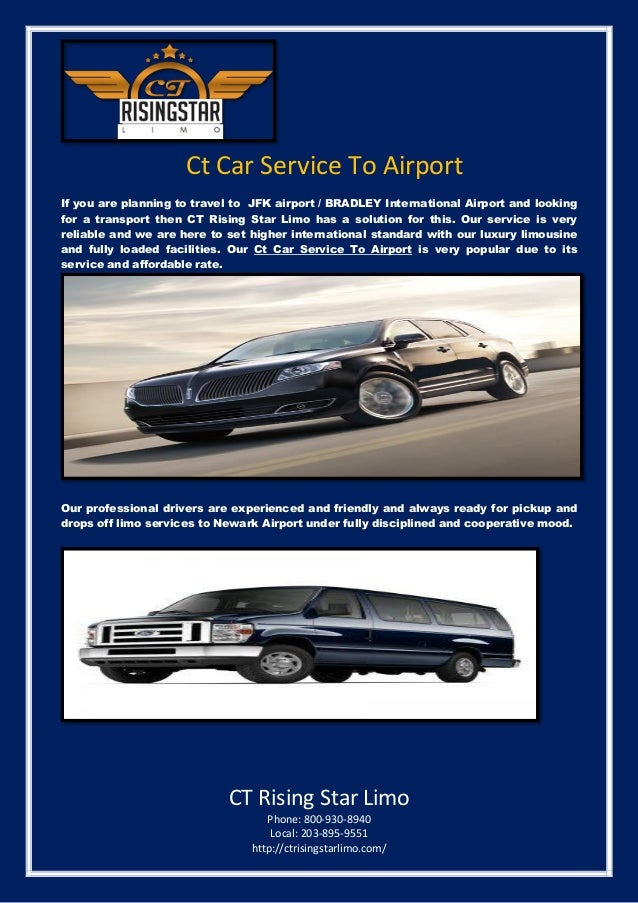 Ct Car Service To Airport