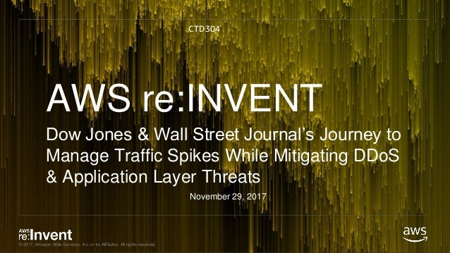 Dow Jones & Wall Street Journal's journey to manage traffic spikes wh…