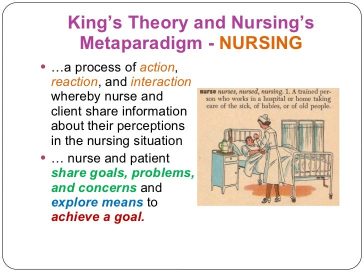 metaparadigm as related to the theory The four metaparadigms: florence nightingale theory of the person is sufferings of patients were not directly related to their.